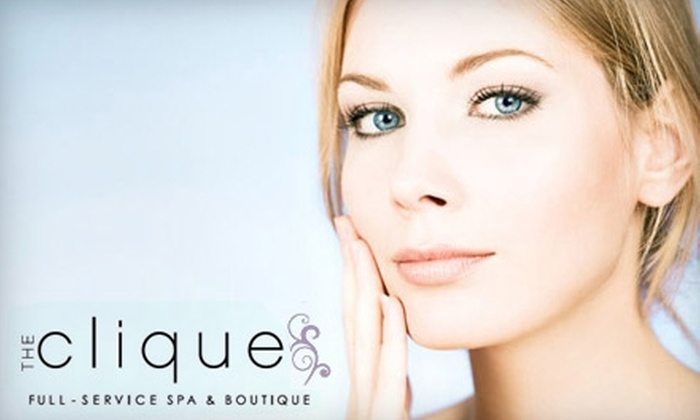 The Clique - Lindon: $62 for European Facial and Microdermabrasion at The Clique ($125 Value) in Lindon