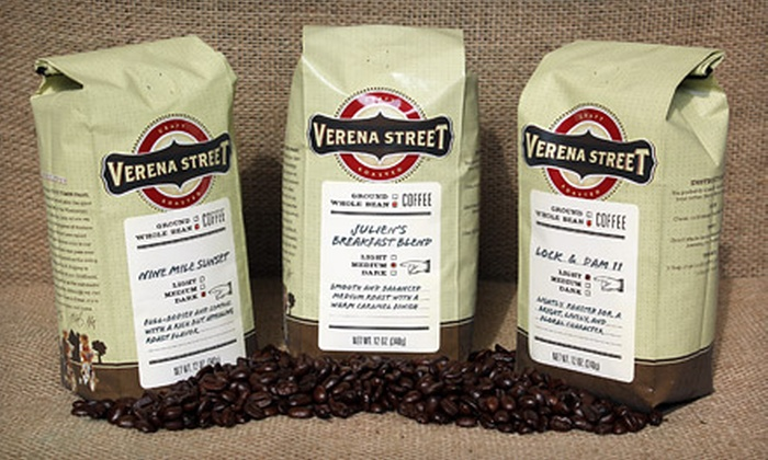 Verena Street Coffee Co.: Three or Four Bags of Specialty Coffee from Verena Street Coffee Co. (Up to 58% Off)