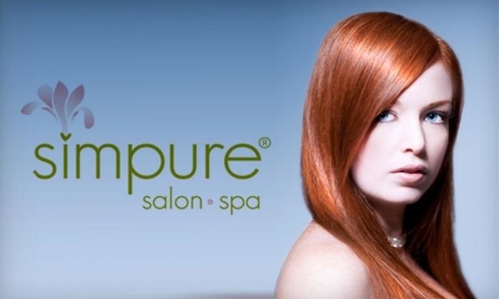 Simpure - Dublin: $30 for $60 Worth of Salon and Spa Services at Simpure