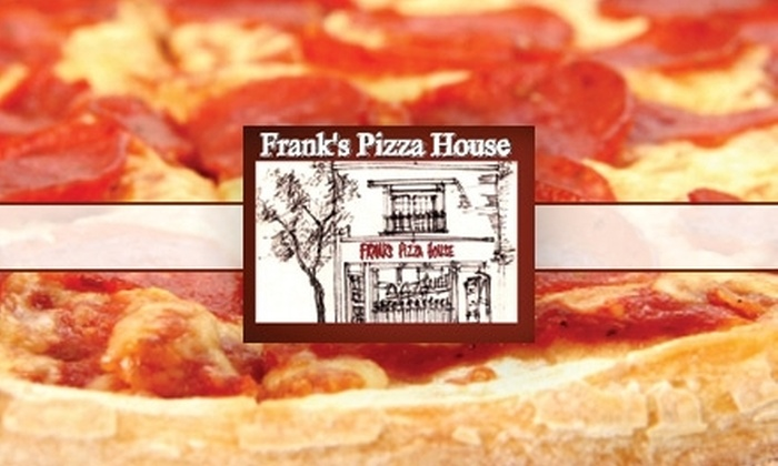 Frank's Pizza House - Toronto (GTA): $10 for $20 Worth of Italian Fare at Frank's Pizza House