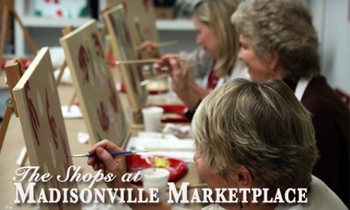 Art Uncorked or The Frame Shop - Madisonville: $15 for Two-Hour Art Party Class at Art Uncorked ($35 Value) or $40 for $100 Worth of Custom Framing and Pre-Framed Art at The Frame Shop in Madisonville