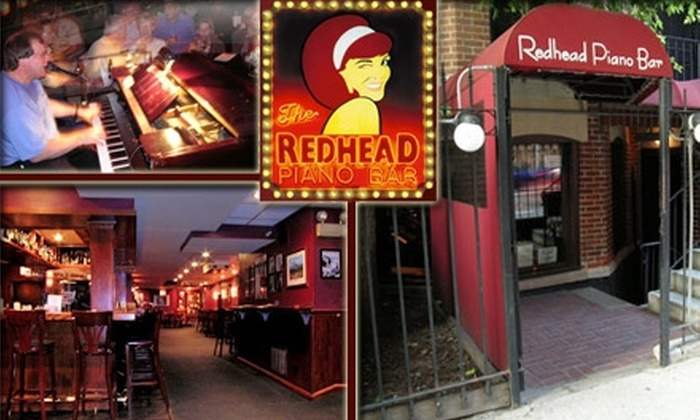 The Redhead Piano Bar - Near North Side: $20 for $40 Worth of Libations and Live Music at The Redhead Piano Bar