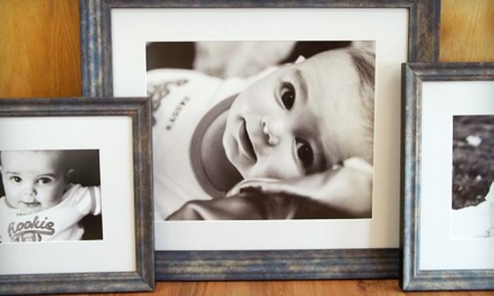 ProArt Gallery - Greenwood: Custom Framing at the ProArt Gallery in Greenwood. Three Options Available.