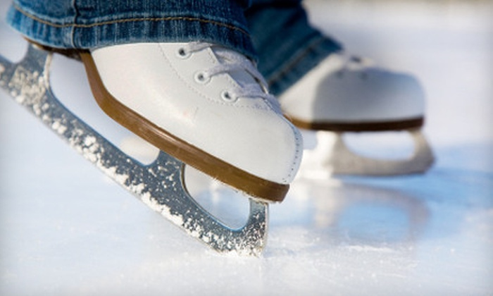 Iceland of Hampton Roads - Northwest Virginia Beach: Ice-Skating Outing for Two, Four, or Six at Iceland of Hampton Roads in Virginia Beach (Up to 54% Off)