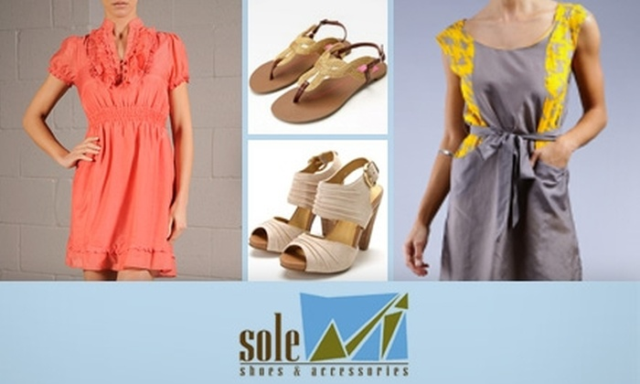 Sole Shoes & Accessories - Edgewood: $25 for $60 Worth of Footwear and More at Sole Shoes & Accessories