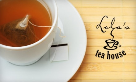 $15 Groupon to Lolas Tea House - Lola's Tea House in Pelham