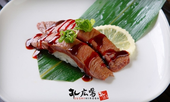 Sushi Hiroba  - Hollywood: $20 for $40 Worth of Japanese-Fusion Cuisine and Drinks