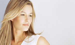 Salon 8736: Haircut Package with Optional Color or Highlights at Salon 8736 (Up to 82% Off). Four Options Available.