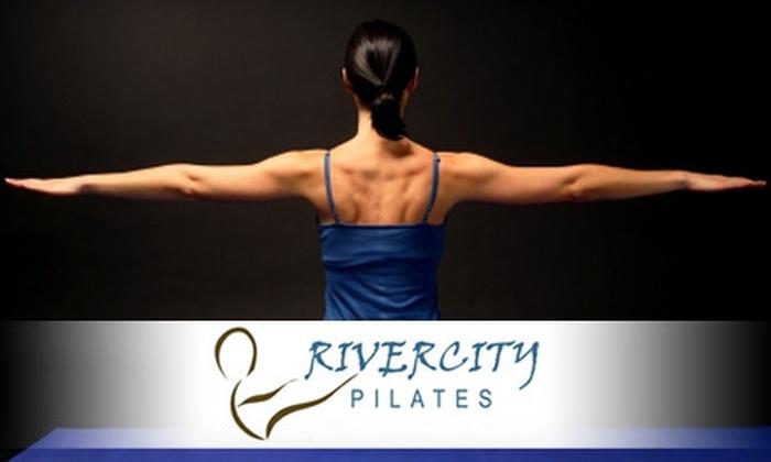 Rivercity Pilates Coralville - Coralville: $29 for Five Mat Classes at Rivercity Pilates ($60 Value)
