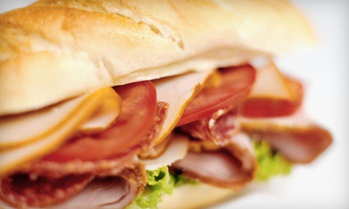 Lee's Sandwiches - Multiple Locations: $8 for a Sandwich Meal with Choice of Smoothies or Iced Coffees for Two at Lee's Sandwiches (Up to $17.50 Value)