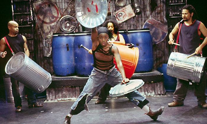 """Stomp"" - East Village: $35 for One General-Admission Ticket to ""Stomp"" at the Orpheum Theater ($73.50 Value)"