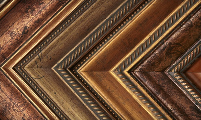 The Frame Corner - Summerlea: Custom Matting and Framing Services or Giftware at The Frame Corner (Up to 63% Off)