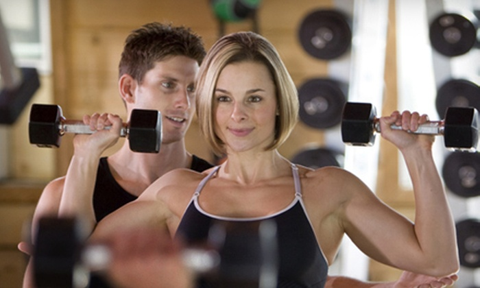 Premier Fitness - Multiple Locations: One-Month or Three-Month Gym Membership Package at Premier Fitness