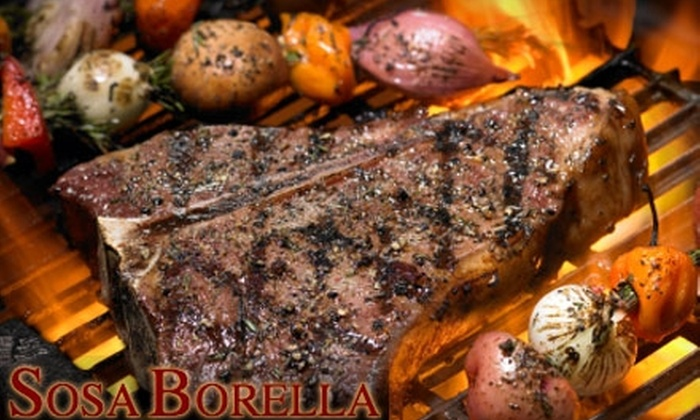 Sosa Borella Restaurant - Theater District - Times Square: $25 for $50 Worth of Italian-Argentine Cuisine at Sosa Borella Restaurant