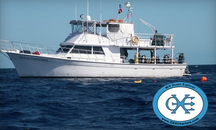 Ocean Explorer Charters - Sea Barge Yacht Center: $49 for a Four-Hour Scuba Diving Cruise with Ocean Explorer Charters in Pompano Beach ($100 Value) Explorer Charters