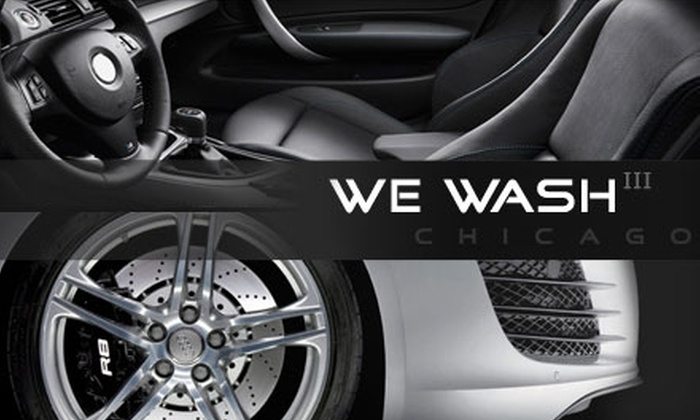 We Wash III - West Loop: $11 for a Platinum Car Wash at We Wash III ($25 Value)