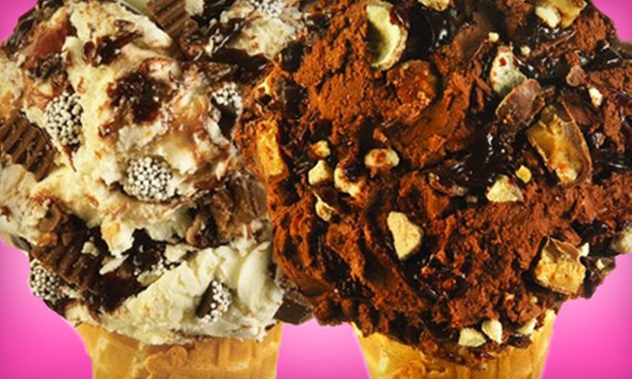 Maggie Moo's Ice Cream - Beale Street,Downtown: Ice Cream and Treats or 14-Inch Ice-Cream Pizza at Maggie Moo's Ice Cream