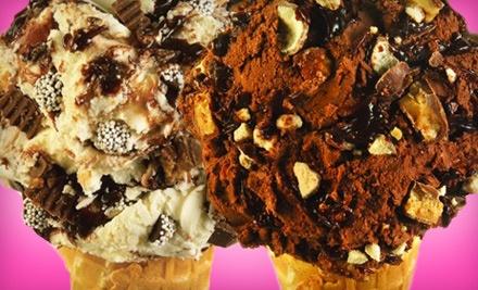 $10 Groupon for Ice Cream - Maggie Moo's Ice Cream in Memphis