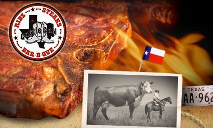 Cattle Call - Amarillo: $7 for $15 Worth of Traditional Texas Barbecue at Cattle Call