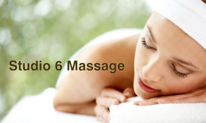 Studio 6 Massage - Central Omaha: $25 for a One-Hour Swedish, Deep-Tissue, Prenatal, or Reflexology Massage at Studio 6 Massage ($50 Value)