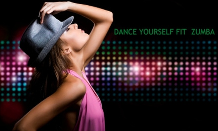 Dance Yourself Fit Zumba - Multiple Locations: $20 for Five Zumba Classes from Dance Yourself Fit Zumba ($41.66 Value)