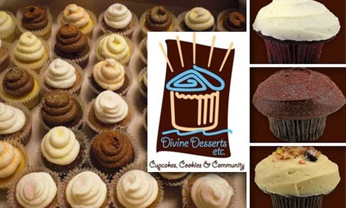 Divine Desserts Etc. - Laguna Niguel: $8 for Six Cupcakes at Divine Desserts Etc. ($18 Value)