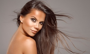 Total Eclips Salon: Haircut with Global Keratin Deep Conditioning or Color Package at Total Eclips Salon (Up to 51% Off)