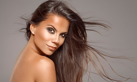 Haircut and Blow-Dry with Deep-Conditioning or Color Treatment or a Blowout at Shear Heaven (Up to 64% Off)