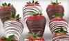 Bobalu Berries: $24 for One Dozen Hand-Dipped Chocolate Drizzle Strawberries from Bobalu Berries ($49.92 Value)