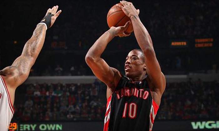 Toronto Raptors - Downtown Toronto: One Ticket to See the Toronto Raptors at the Air Canada Centre. 12 Options Available.