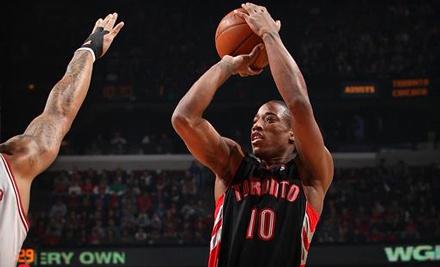 Toronto Raptors vs. Orlando Magic at Air Canada Centre on Mon., Mar. 26th at 7PM: Balcony - Toronto Raptors in Toronto