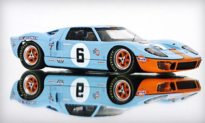Mid-America Raceway - Downers Grove: Slot-Car Racing with Rental Equipment for Two or Four People at Mid-America Raceway in Downers Grove (Up to 51% Off)