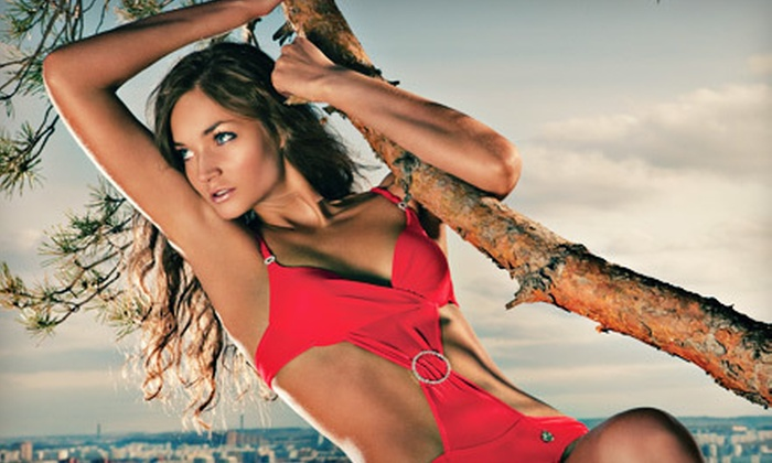 Tan 2000  - West Point Pepperell Square: One or Three Mystic Tan Spray Tans at Tan 2000 in New Braunfels (Up to 54% Off)