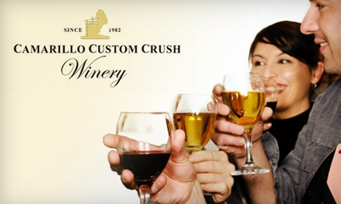 Camarillo Custom Crush Winery - Camarillo: $30 for 90-Minute Wine-Making Class at Camarillo Custom Crush Winery ($60 Value)