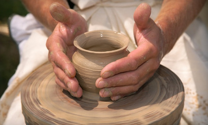 Desert Dragon Pottery - Phoenix: Basic Pottery Wheel Class for Two or Four or Six Beginners' Classes for One at Desert Dragon Pottery (Up to 61% Off)