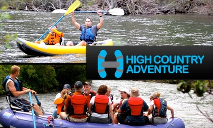 High Country Adventure - American Fork-Pleasant Grove: $19 for a Two-Hour Guided Whitewater Rafting or Kayaking Adventure from High Country Adventure