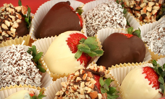 Zexyberry - Northeast Calgary: 30- or 48-Piece Chocolate-Dipped Fruit Platter or 200 Grams of Fondue Chocolate (Up to 52% Off) at Zexyberry (Up to 52% Off)