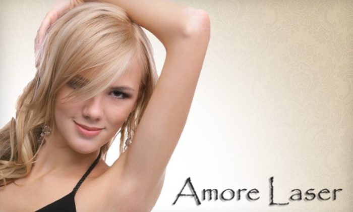 Amoré Laser - Crestview: $129 for Three Laser Hair Removal Treatments of the Underarms or Basic Bikini Area at Amoré Laser
