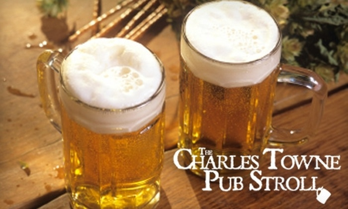Walk Charleston - Multiple Locations: $6 for a Tour of Historical Charleston Pubs or Charleston Sunrise Walk from Walk Charleston ($15 Value)