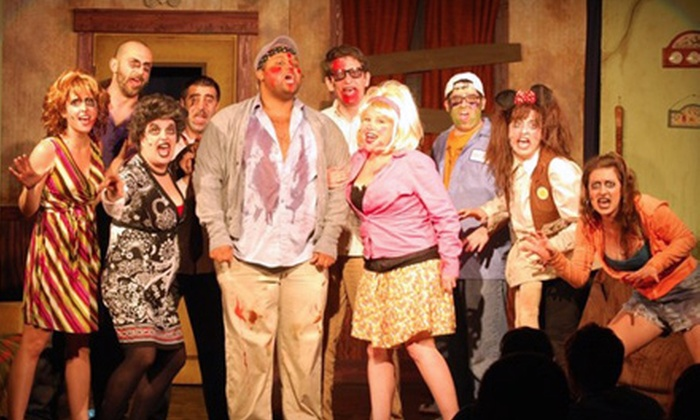 """""""Musical of the Living Dead"""" - Logan Square: $12 for One Ticket to Cowardly Scarecrow Theatre Company's """"Musical of the Living Dead"""" (Up to 52% Off). Four Shows Available."""