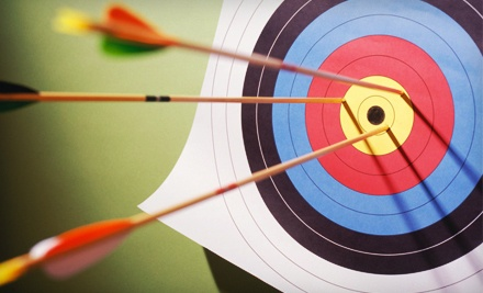 1-Hour of Archery with Bow and Arrow Rental for 2 (a $40 value) - Heritage Outdoors in Fletcher