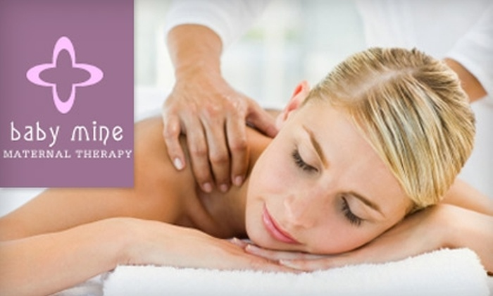Baby Mine - West End: $40 for a 90-Minute Massage for Women at Baby Mine ($80 Value)