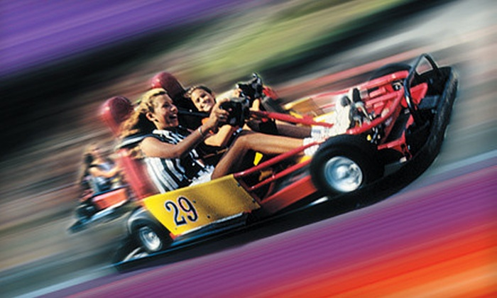 All Star Adventures and All Star Sports - Multiple Locations: $15 for One or Two Five-Attraction Fun-Park Passes to All Star Adventures and All Star Sports (Up to 52% Off)