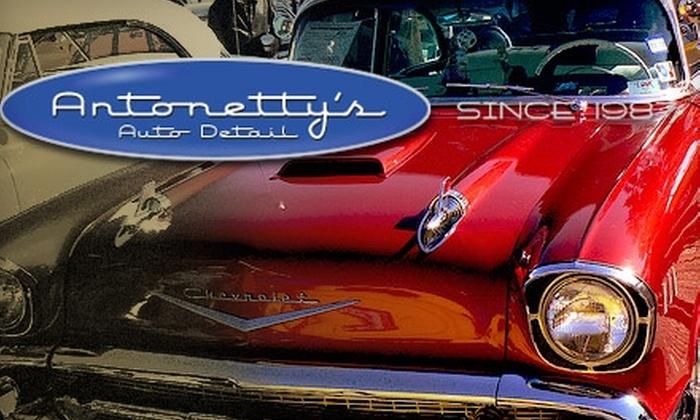 Antonetty's Auto Detail - San Diego: $99 Complete Mobile Detail from Antonetty's Auto Detail ($200 Value)