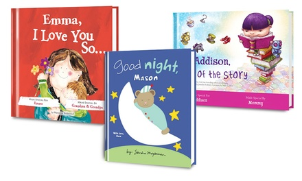 Personalized Kids' Books from Put Me In The Story (50% Off). Two Options Available.