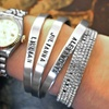 Up to Half Off Custom Stamped Aluminum Rings and Cuffs