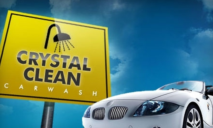 Crystal Clean Car Wash - Douglas Station Commercial Park: $20 for Five Ultimate Washes at Crystal Clean Carwash