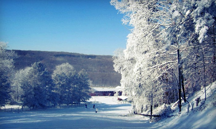 Wild Mountain/Taylors Falls Recreation - Taylors Falls: $34 for an All-Day Lift Ticket and Ski or Snowboard Rental at Wild Mountain/Taylors Falls Recreation (Up to $68 Value)