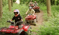 Quad Trekking and Laser Clay Shooting for One or Two at Heart of England Events (Up to 62% Off)