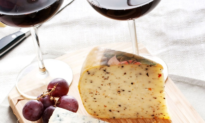 The Wine and Cheese Gallery - Gainesville: Wine and Cheese or Wine Tasting for Two at The Wine and Cheese Gallery (Up to 50% Off). 7 Options Available.